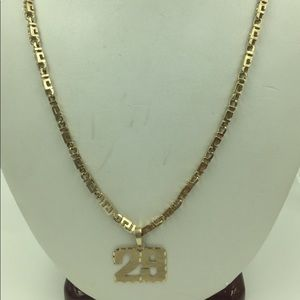 Other - 🔥FLASH SALE🔥10KT Yellow Gold Heavy Necklace 21""